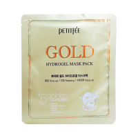 PETITFEE Gold Hydrogel Mask Pack (New)  - 1шт